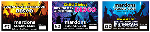 Ticketed Events at Mardos